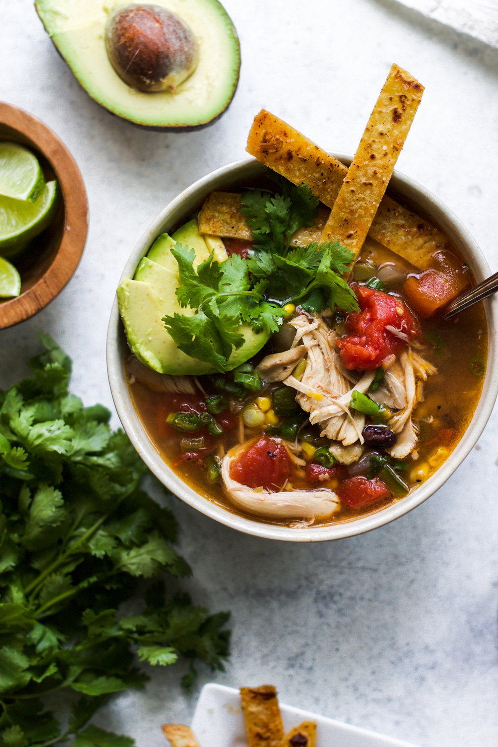 The Best Chicken Tortilla Soup: My Diary of Us