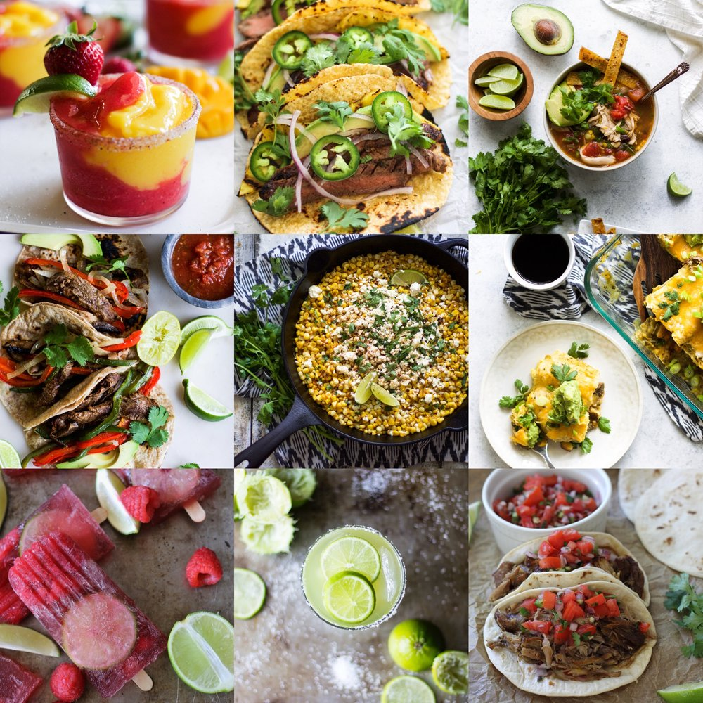 Cinco de Mayo Recipe Round Up: My Diary of Us