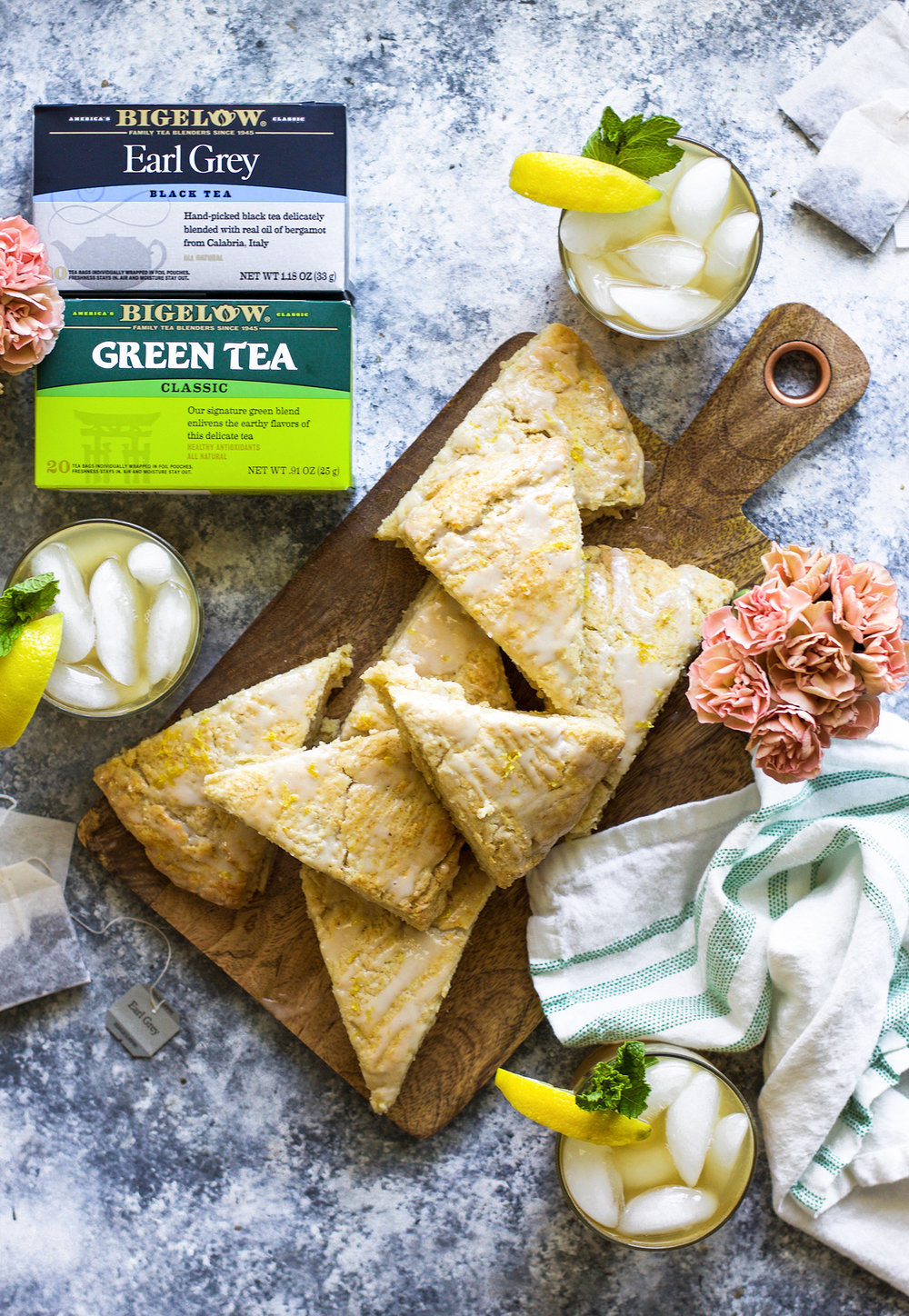 Earl Grey Lemon Scones and Iced Green Tea: My Diary of Us