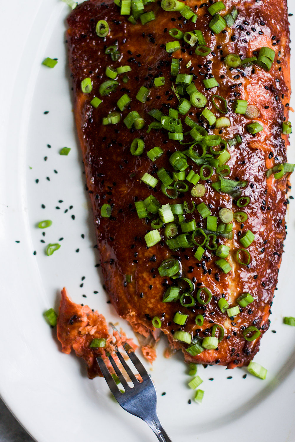 Easy Miso Glazed Salmon: My Diary of Us