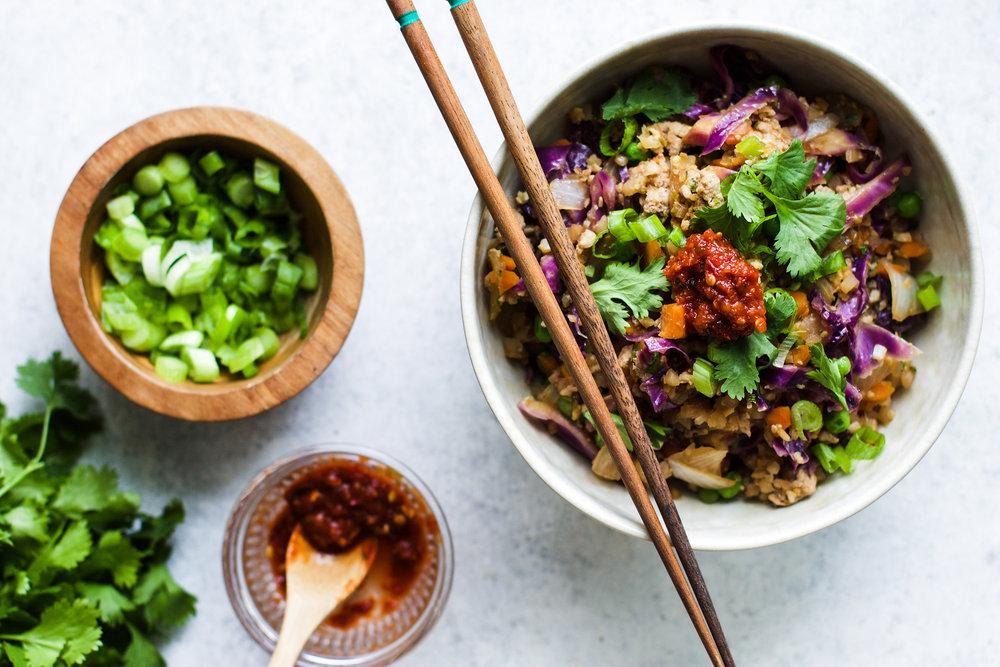 Easy Pork Fried Cauliflower Rice: My Diary of Us