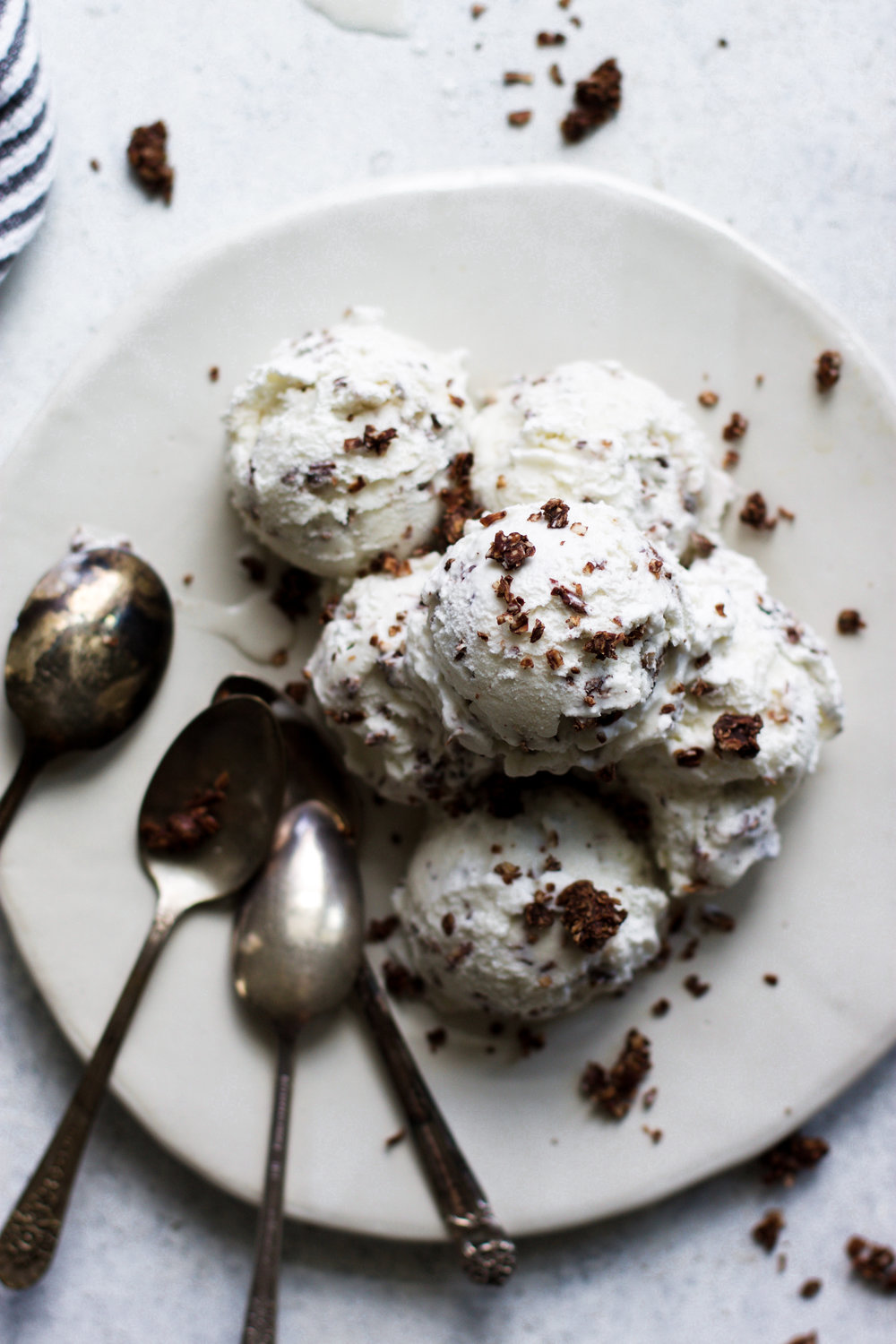 Chocolate Coated Toasted Coconut Ice Cream: My Diary of Us