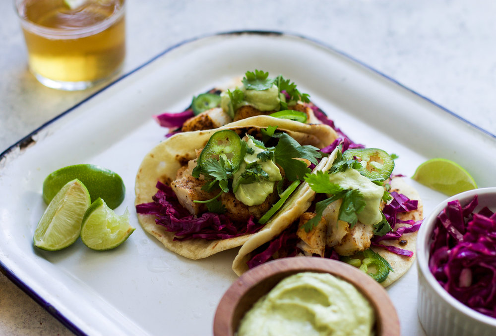 Easy Fish Tacos: My Diary of Us