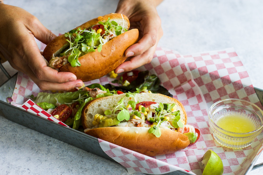 California Style Lobster Rolls: My Diary of Us