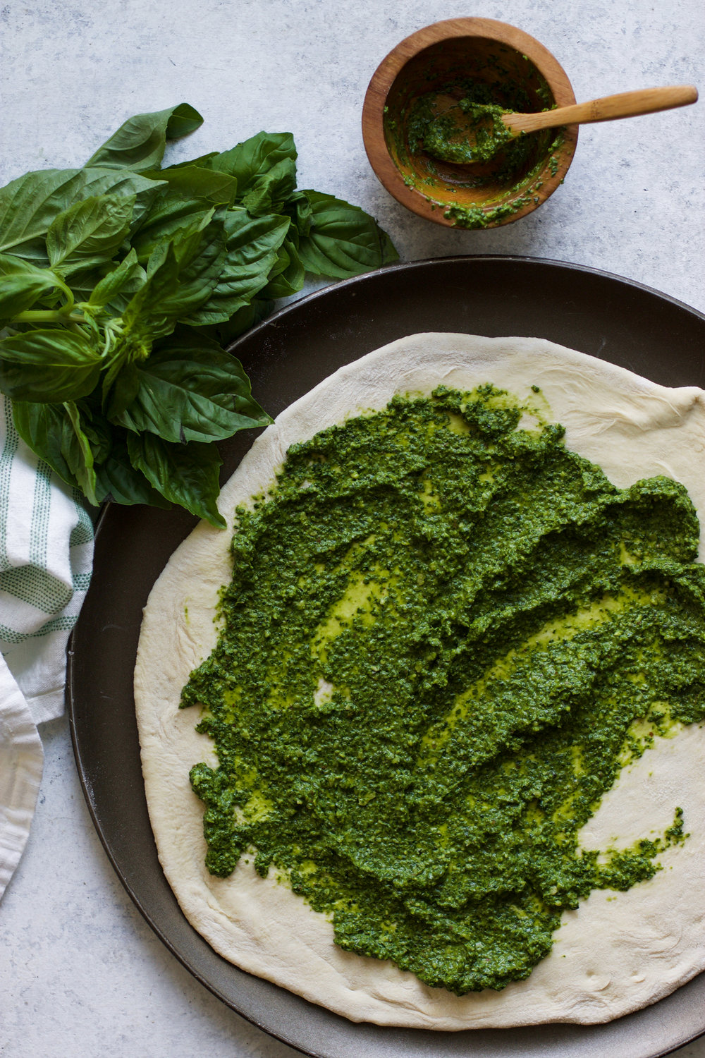 Basic Basil Pesto: My Diary of Us