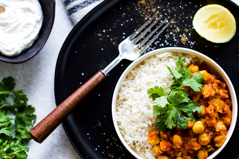 Easy 30-Minute Chana Masala: My Diary of Us