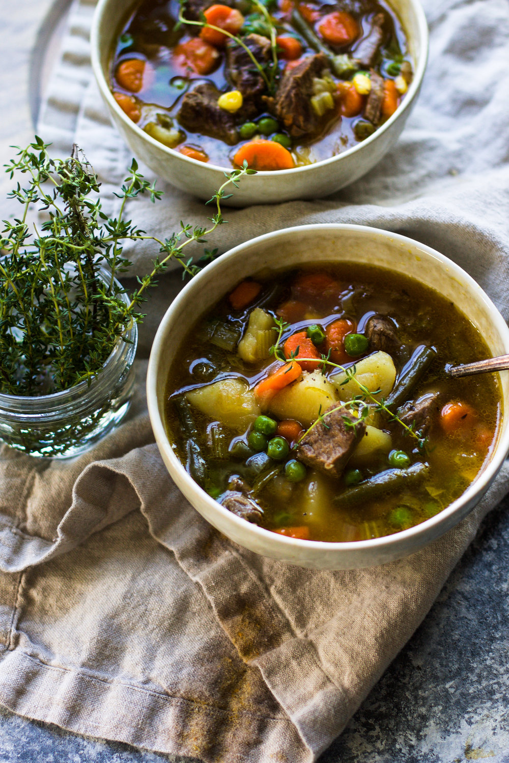 Beef and Vegetable Soup: My Diary of Us