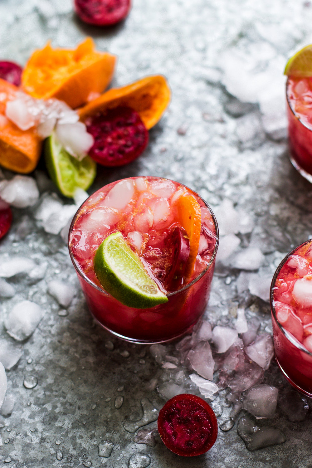 Pink Prickly Pear Citrus Spritzer: My Diary of Us