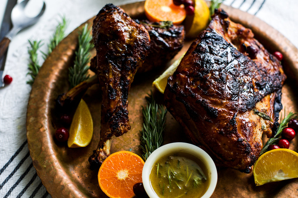 Citrus Herb Butter Grilled Turkey: My Diary of Us