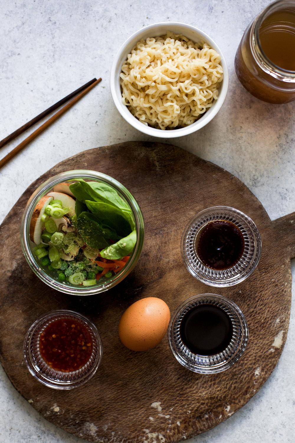 Easy Single Serving Veggie Ramen Bowls: My Diary of Us