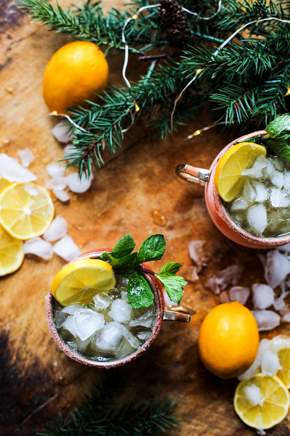 Meyer Lemon Bourbon Mule: My Diary of Us