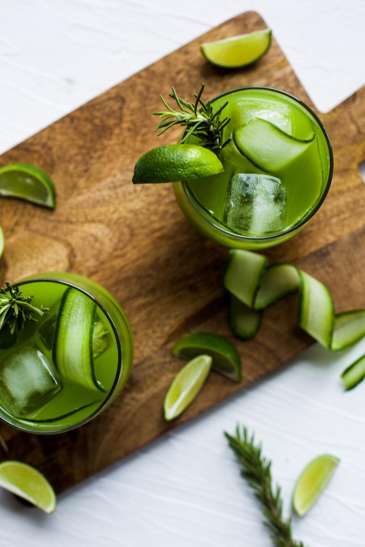 Rosemary Cucumber Gimlet: My Diary of Us