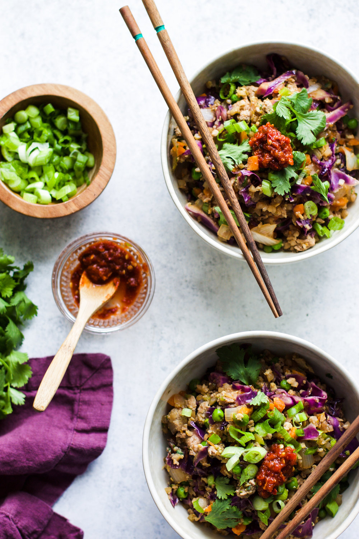 Easy Pork Cauliflower Fried Rice: My Diary of Us