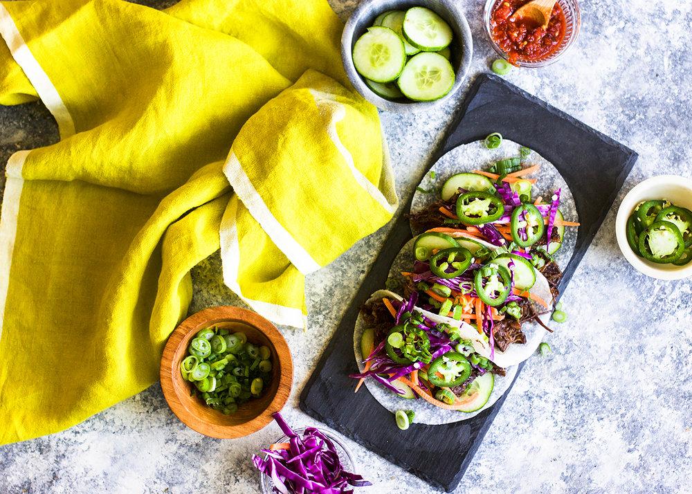 Bahn Mi Tacos: My Diary of Us