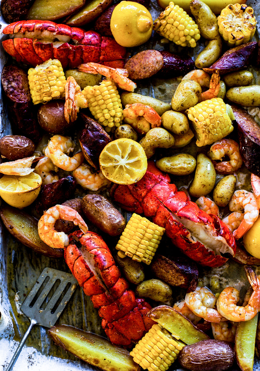 Easy Sheet Pan Cajun Lobster Bake: My Diary of Us
