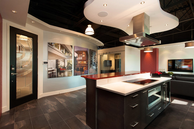 Connected Spaces - NorthShoreDesignCentre Showroom Entry 2 - Home Automation Specialists