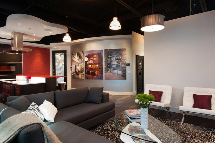 Connected Spaces - NorthShoreDesignCentre Showroom Living Area 2 - Home Automation Specialists