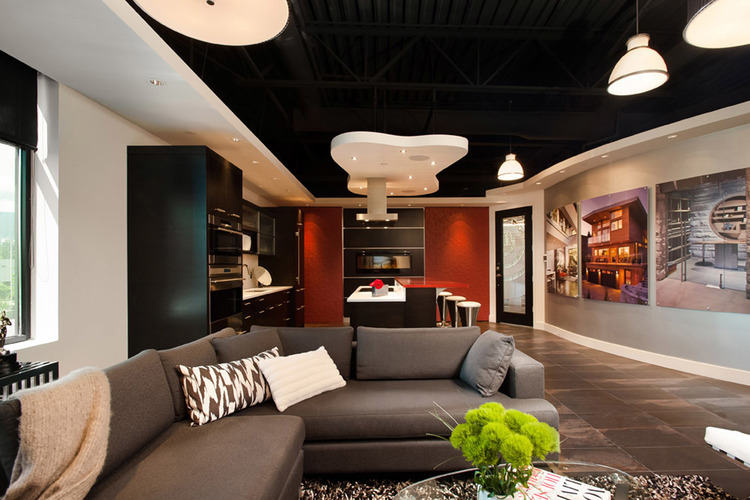 Connected Spaces - NorthShoreDesignCentre Showroom Living Area - Home Automation Specialists