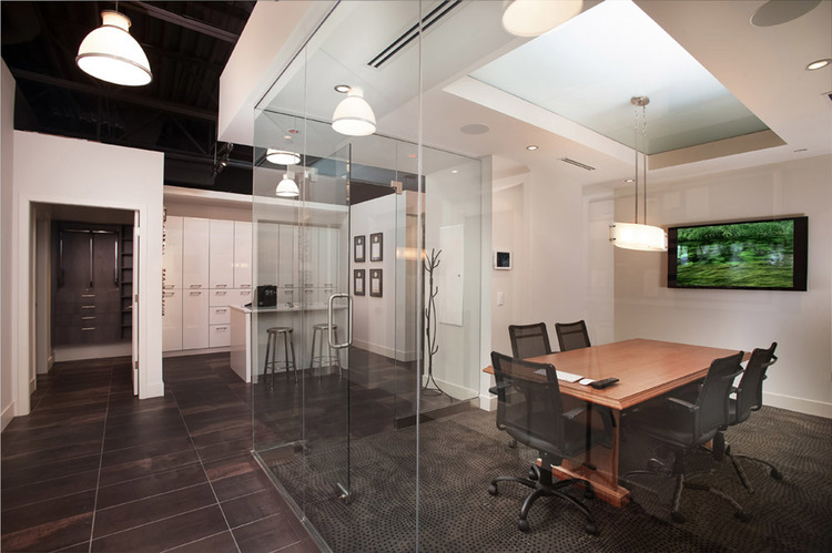 Connected Spaces - NorthShoreDesignCentre Showroom Hallway - Home Automation Specialists