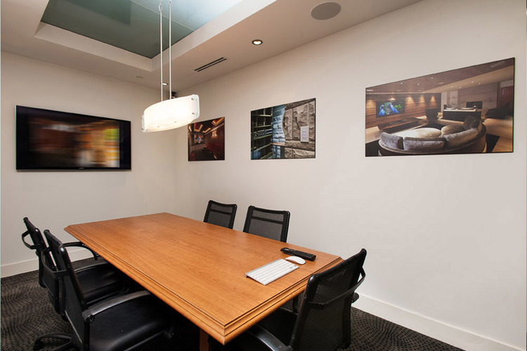 Connected Spaces - NorthShoreDesignCentre Showroom Boardroom - Home Automation Specialists