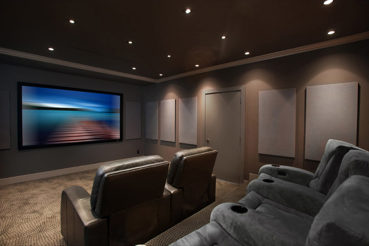 Connected Spaces - NorthShoreDesignCentre Showroom Home Theatre - Home Automation Specialists