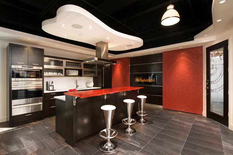 Connected Spaces - NorthShoreDesignCentre Showroom Kitchen - Home Automation Specialists