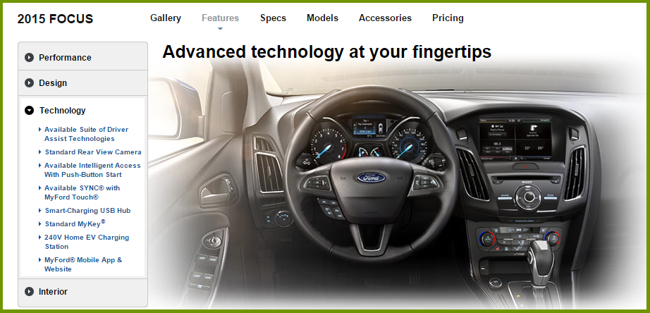 Ford Focus Technologies