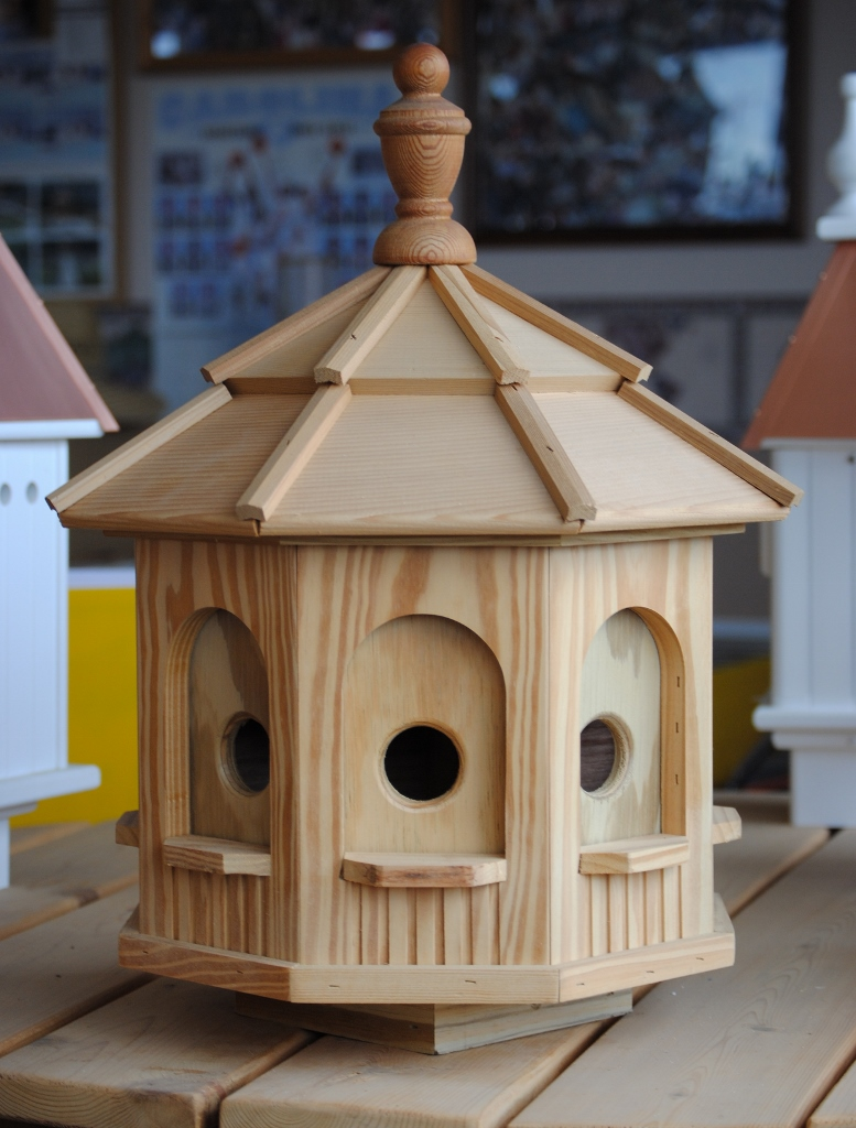 Wooden Octagon Bird House Wooden Birdhouses And