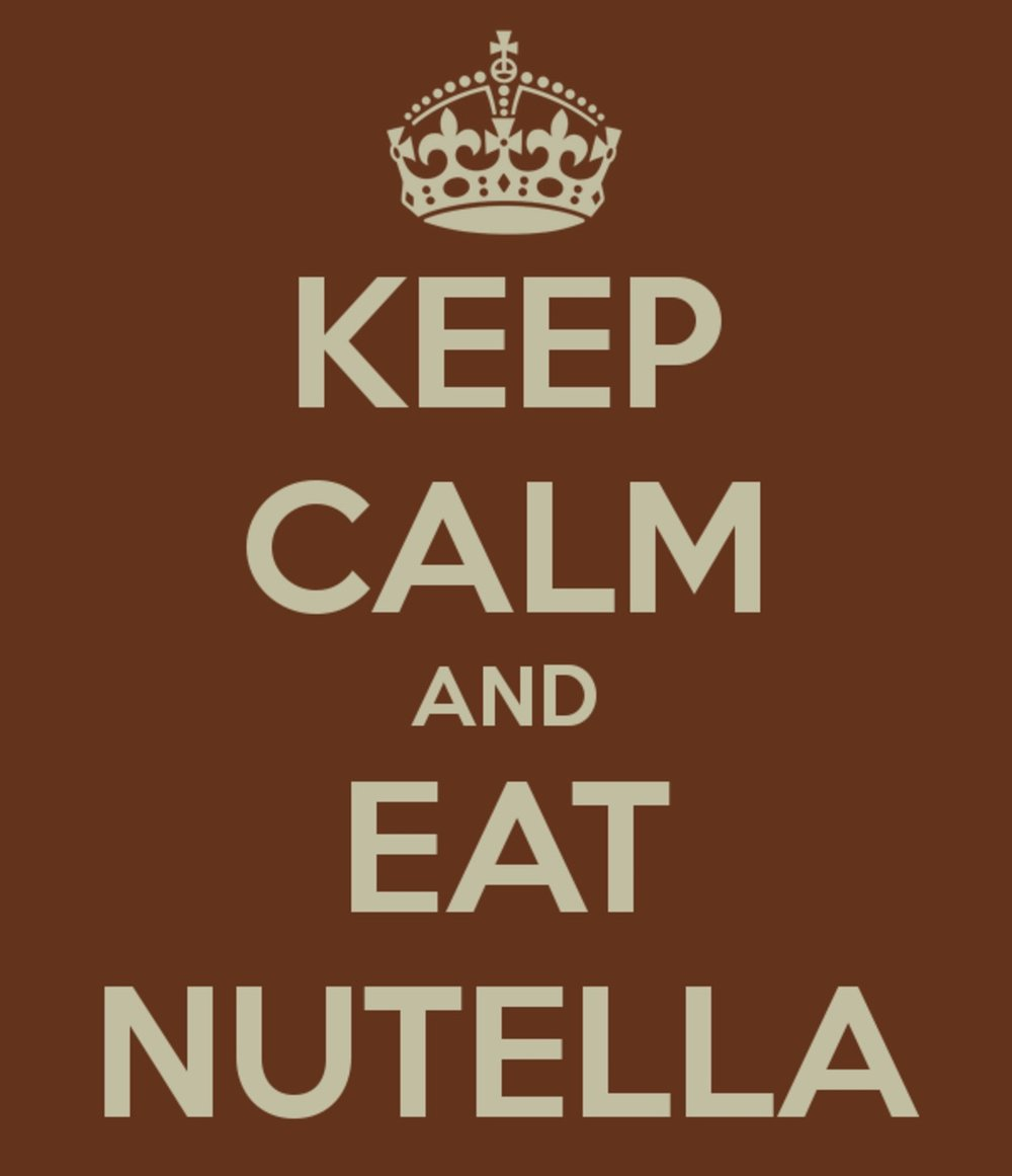 How do you eat your Nutella?