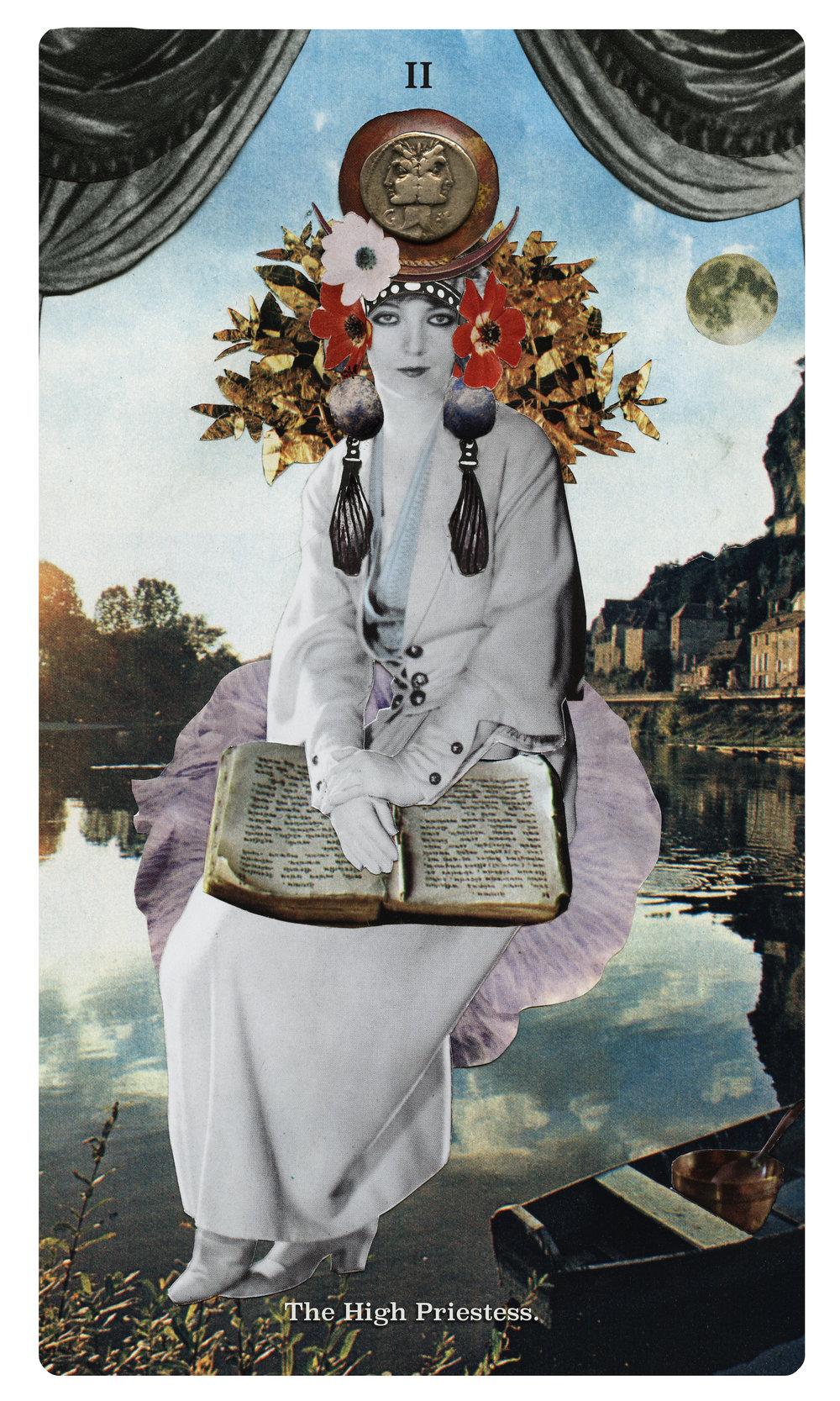 Hight Priestess Datura Tarot