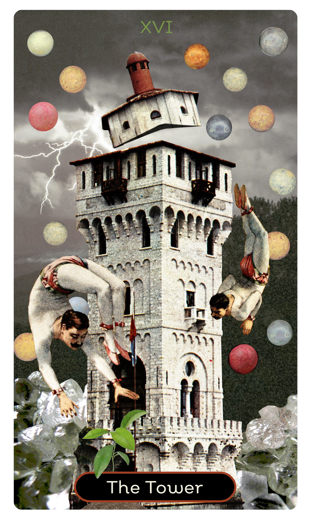 The Tower Datura Tarot