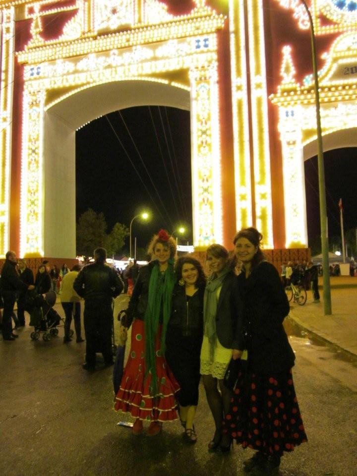 Sra. Kennelly en Sevilla