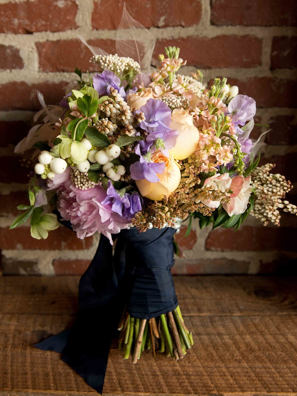 {Beautiful bouquet by Out of the Garden}