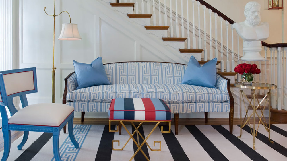 Designer Tobi Fairley - Richmond Symphony Showhouse\u0026nbsp; & Red White and Blue Chic - Patriotic Rooms All Year Round ...