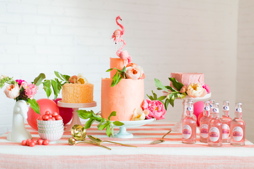 If you want to see a whole lot of flamingo cuteness, be sure to go to,  The House That Lars Built  to see a bridal shower they did!  I am in love with the whole thing!