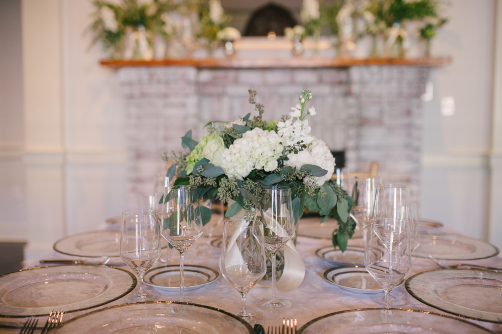 {Beautiful table setting from Polished!}