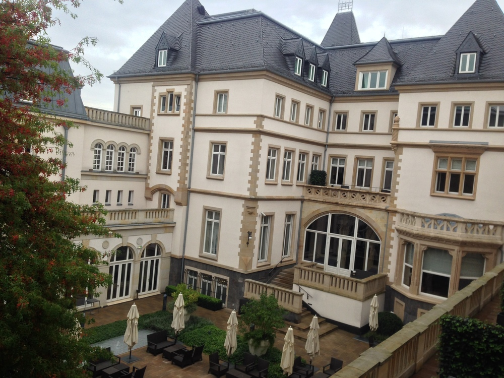 We went to Germany!  This was my favorite hotel (more to come)