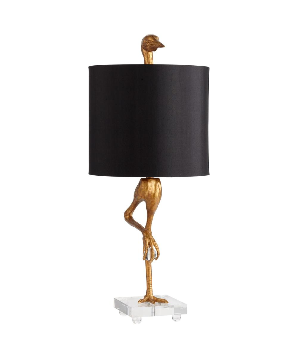 Ibis Ancient Gold Table  Lamp by Cyan Design