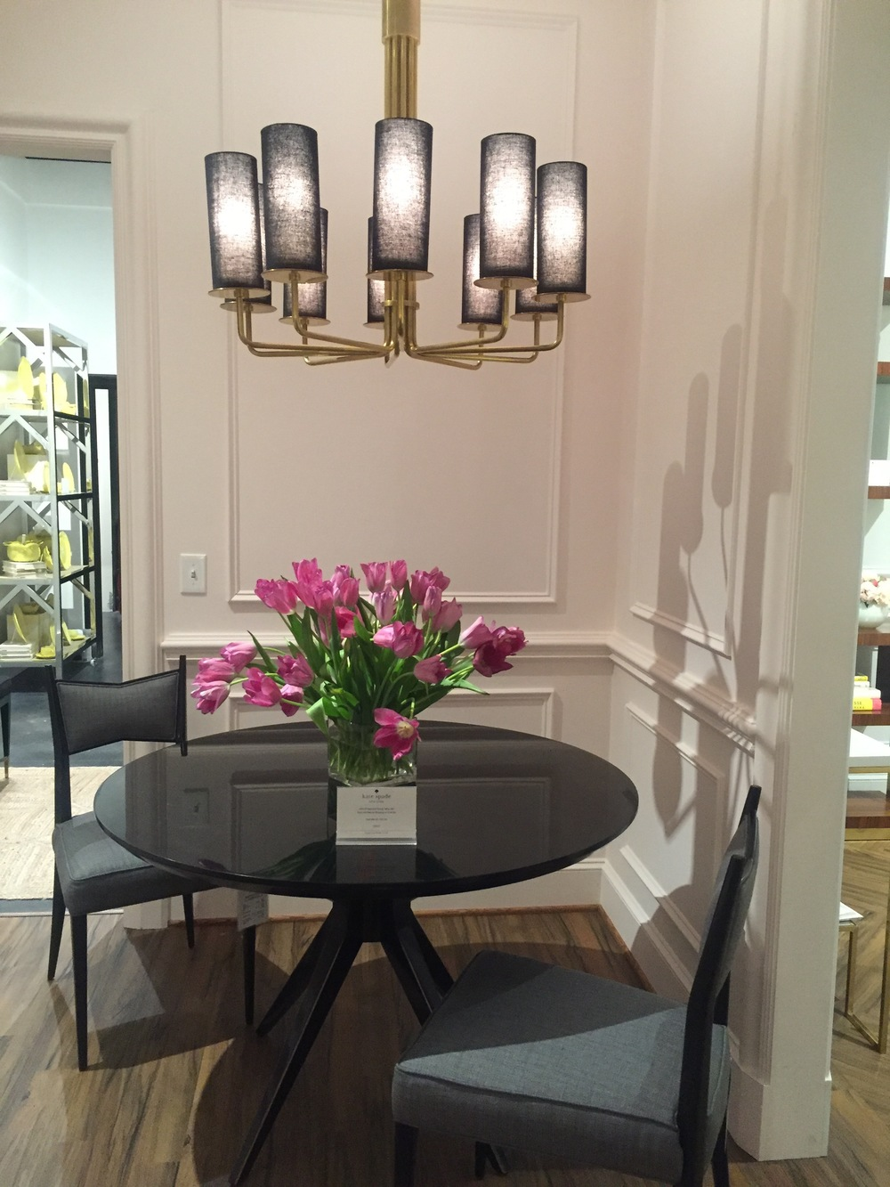 Another adorable VIGNETTE in the SHOWROOM.