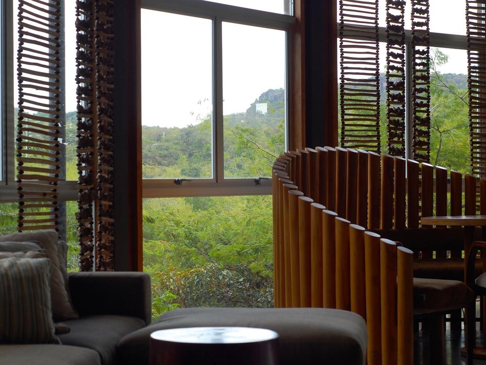 Lobby view at Rio Perdido