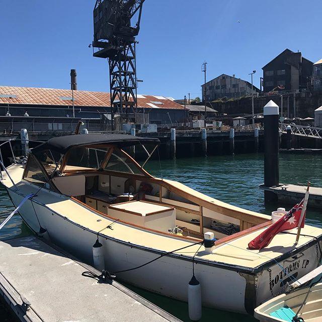 #boat #Ilovemyboat #cockatooisland