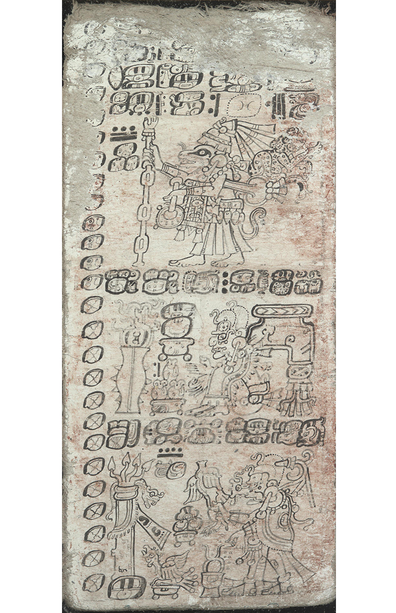 One of the last existing Mayan Book can be found here!
