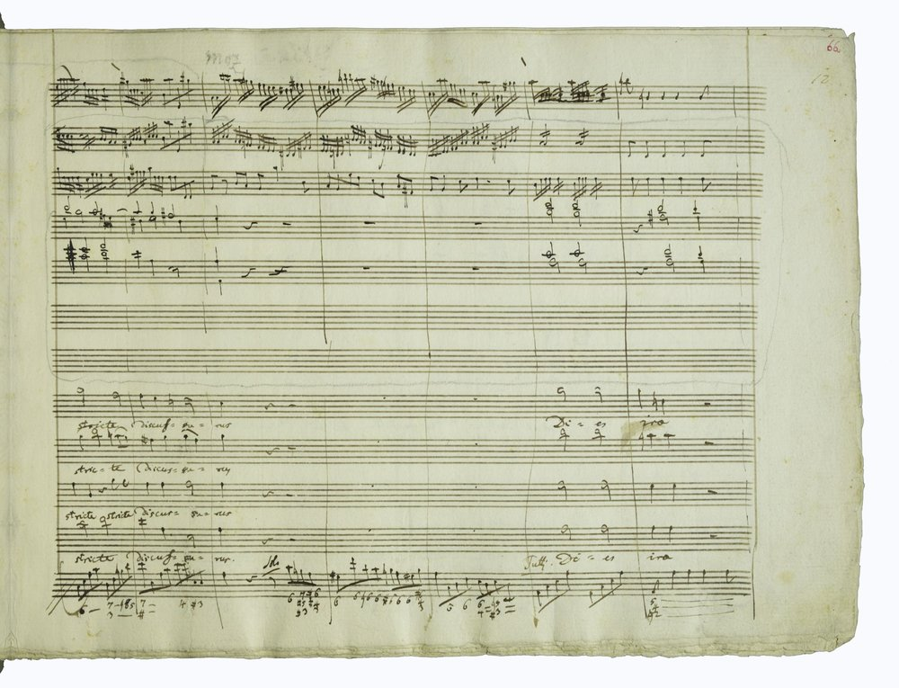 MOZART'S REQUIEM MASS D MINOR K626, 1791
