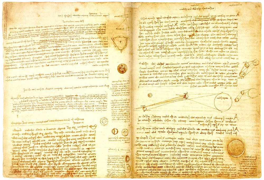 Hammer Codex, Da Vinci