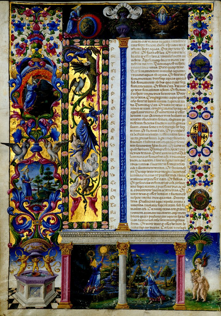 SALE BIBLE OF BORSO D'ESTE 1455-1461
