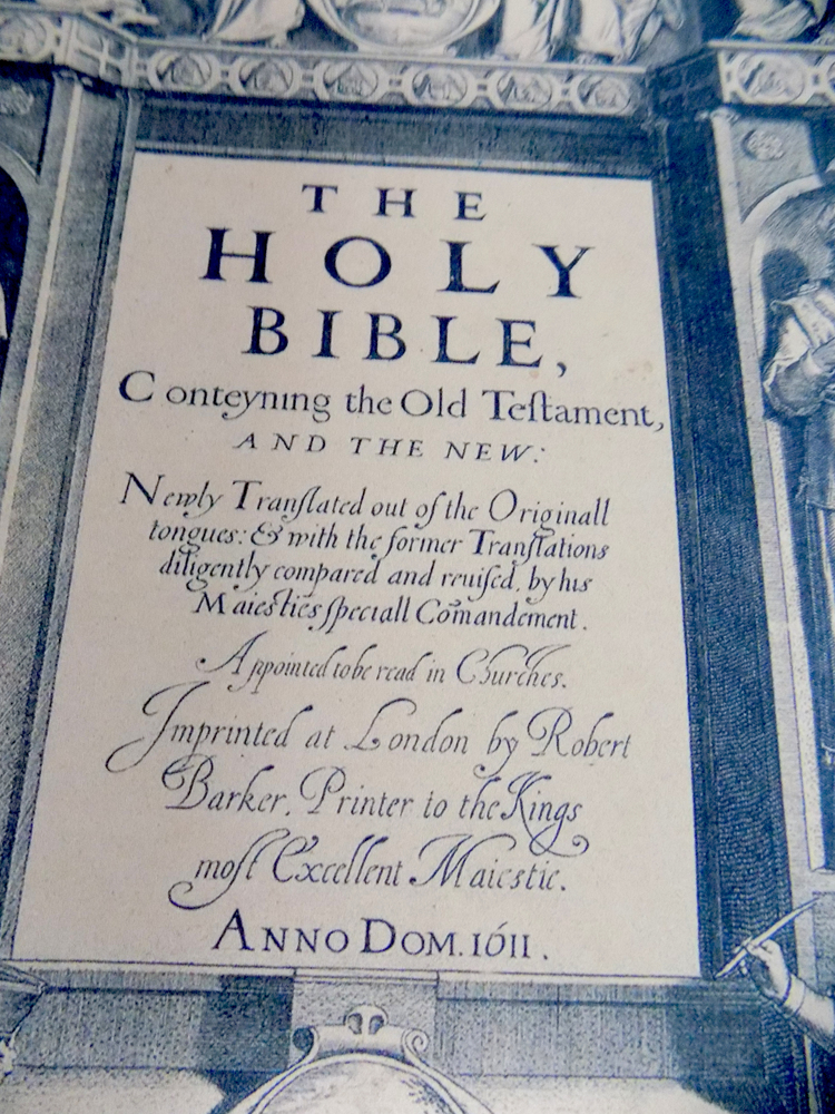 Kind James Bible 1611
