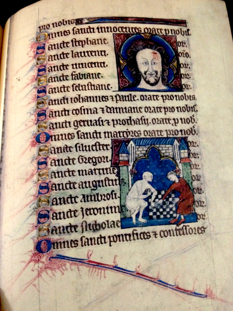 Book of Hours, 1289 England