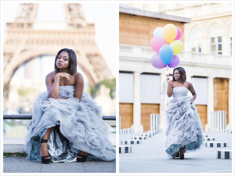 Photoshoot Paris France