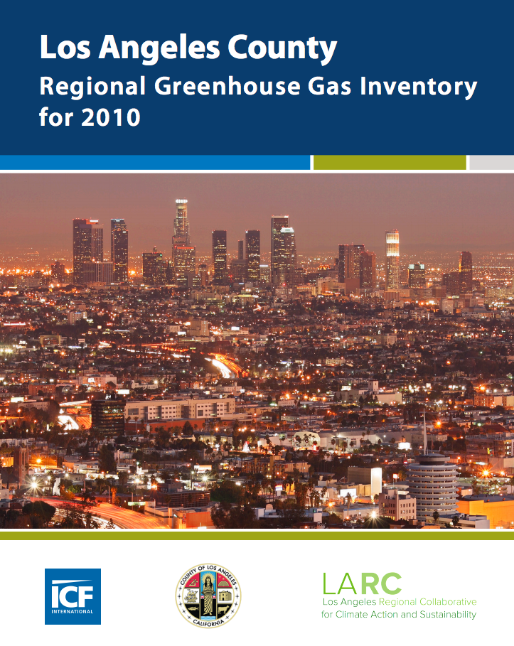 la county ghg inventory los angeles regional collaborative