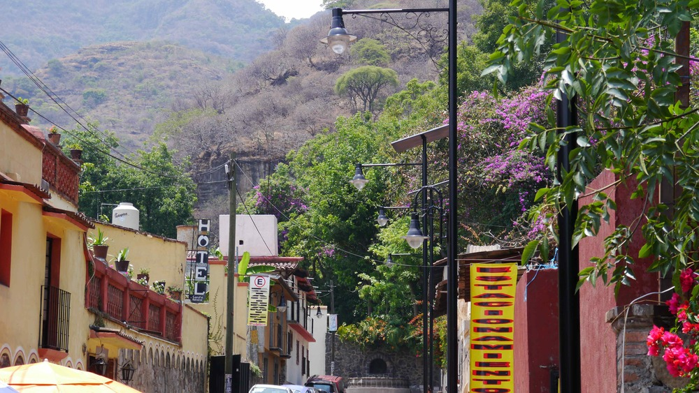 Streets of Malinalco - colors, beauty and magic.